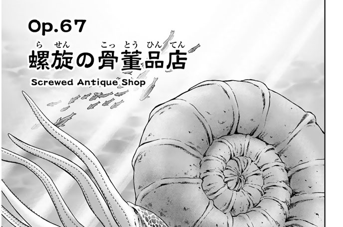 Op.67 螺旋の骨董品店