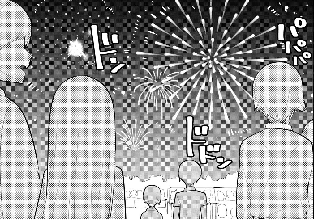 おしおき(52) 打ち上げ花火とおっぱい太鼓