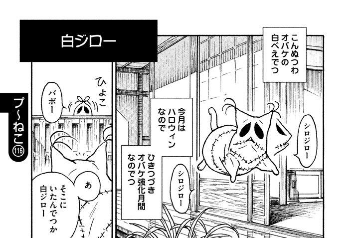 プ〜ねこ(116) 白ジロー