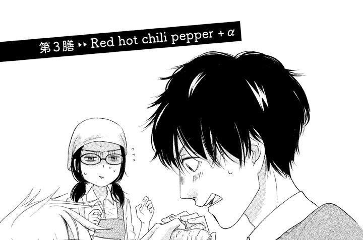 第3膳 Red hot chili pepper+α