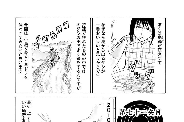 第七十一矢目 ヒヨドリの死角