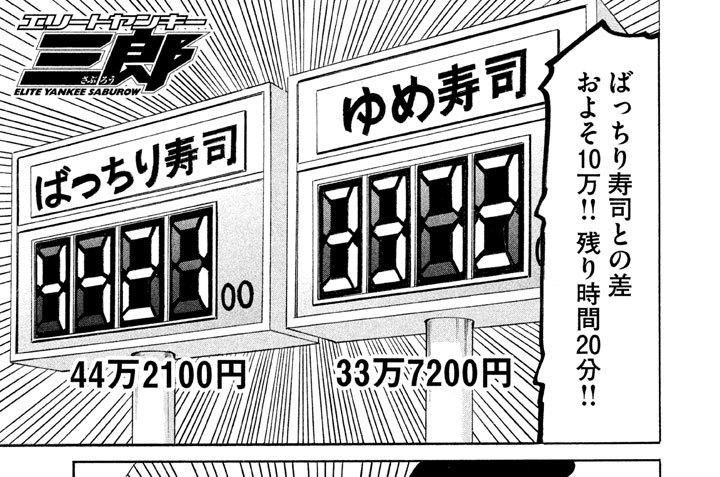 第125話 激闘!! 回るスシVS.回らないスシ!!(5)