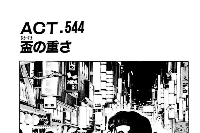 ACT.544 盃の重さ