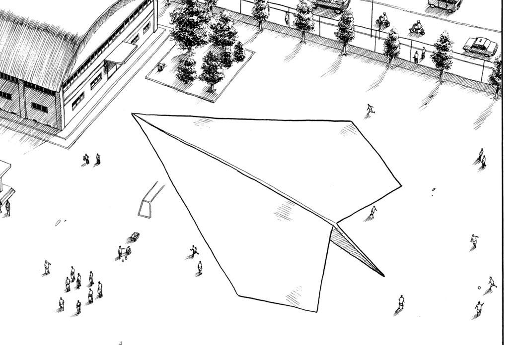第二話 老刑事と紙飛行機