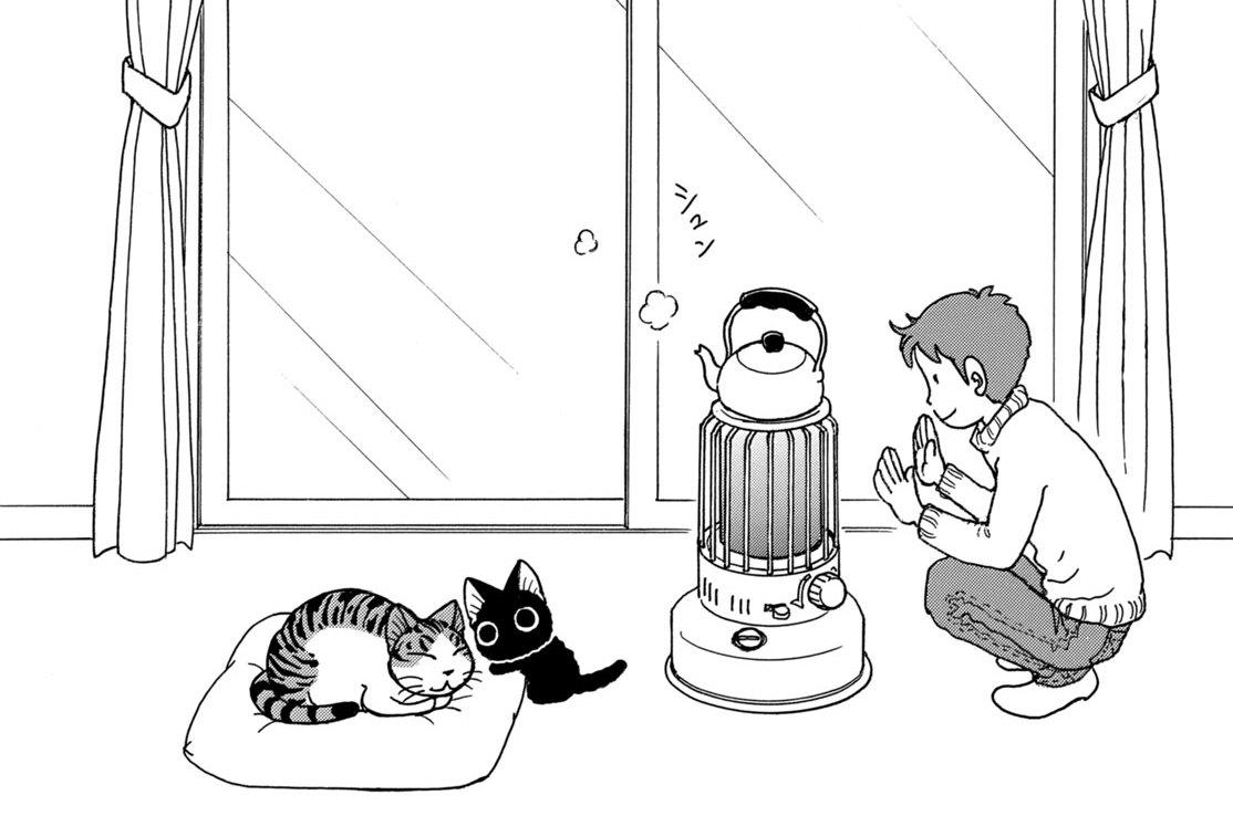 第73話 老猫スーの冬の一日